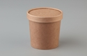 Picture of 12oz Betakraft Eco Food Container and Lid Combo - 90mm x 75mm x 86mm-BIOD079415- (SLV-25)