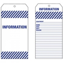 Picture of Tag PVC - INFORMATION-LABE642560- (PACK-1000)