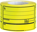 Picture of Despatch Labels Yellow - For Hand Written Details-LABE642625- (ROLL-500)