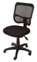 Picture of Office Chair - High Back Typist Chair-Mesh Back-Black Fabric-FURN358700- (EA)