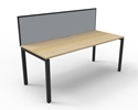 Picture of Workstation - 1 Person 1500 x 780 x 730 - with Privacy Screen-FURN360150- (EA)