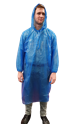 Picture of Poncho Polyethelene Disposable Blue-APPR495160- (CTN-100)